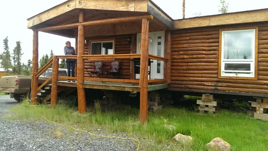 The Arctic Chalet Resort: The Twilight cabing we stayed in