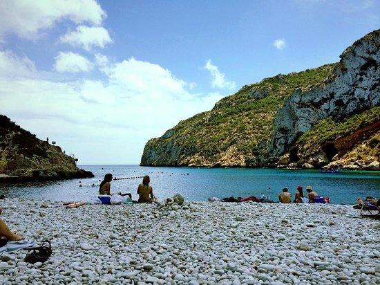 Playa La Granadella: Cala de la Granadella