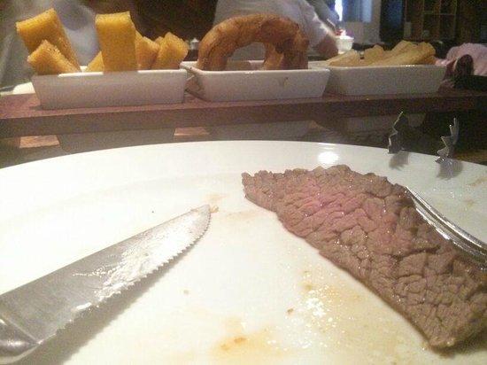NB Steak: muita comida