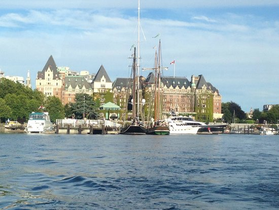The Fairmont Empress : from the water