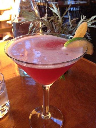 Ginger cranberry vodka