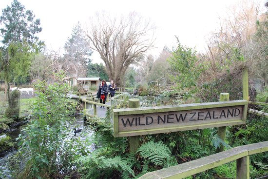 Willowbank Wildlife Reserve: Entrance to the reserve