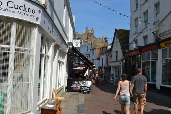 Old Town Hastings: Callecitas del Old Town