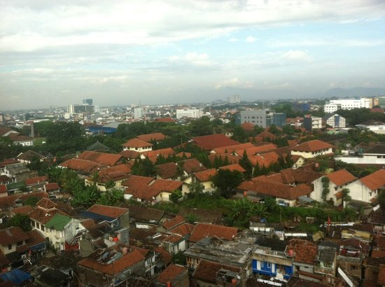 Novotel Bandung: back view of the hotel