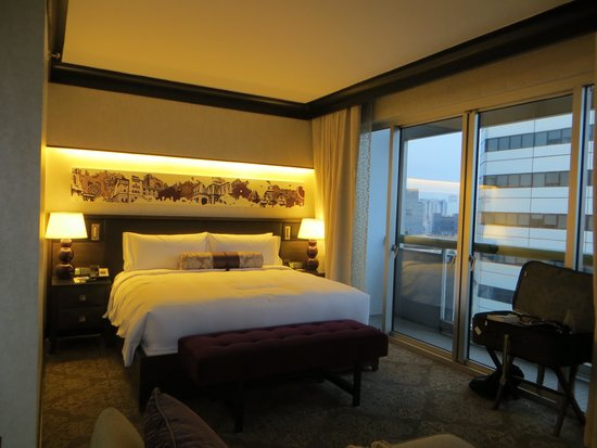 Fairmont Singapore : part of our room