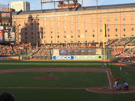 Oriole Park at Camden Yards : The warehouse