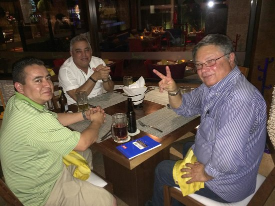 Lima 12 05 Peruvian Cuisine & Steak House: Nice meeting over dinner
