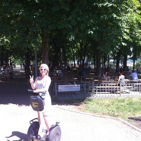Prague On Segway : The lovely Ellie!