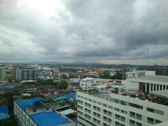Classic Kameo Hotel & Serviced Apartments, Rayong: A view from my remove