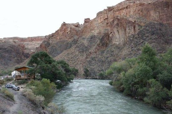 River at Charyn Canyon