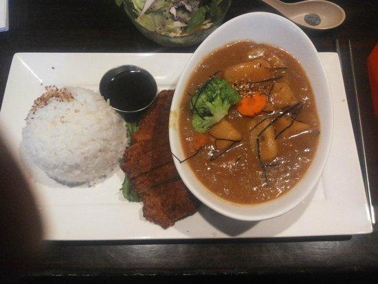 Nori Japanese Restaurant: Japanese curried pork (avoid this)