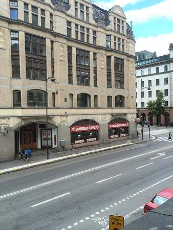 Elite Hotel Adlon: вид из окна