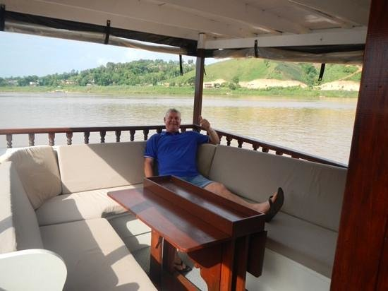 The Luang Say Lodge: relaxing on the Mekong