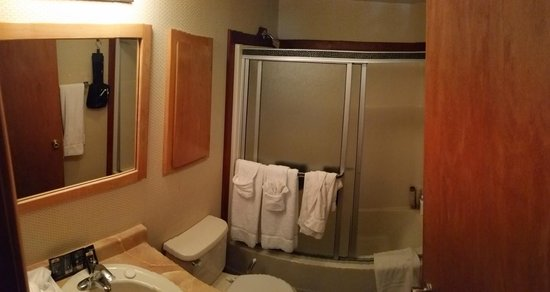 Mountain Retreat Resort, a VRI resort : Second-level bathroom (guest bath)