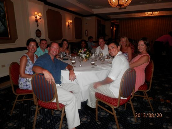 Sandals Royal Plantation: Returners Dinner