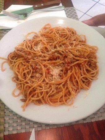 Fiorenza: Spaghetti Bolognese