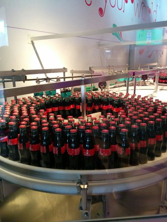 World of Coca-Cola: Freshly bottled coke to take home!