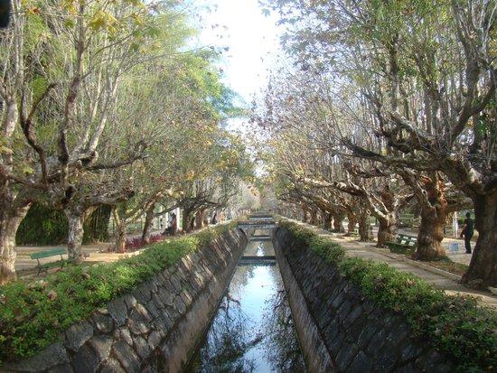 Parque das Águas - entrada