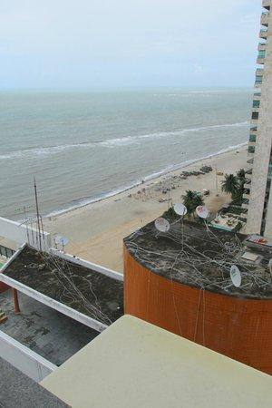 Hotel Dan Inn Mar Recife: View from room, not bad.