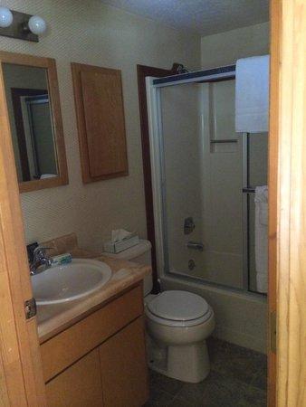 Mountain Retreat Resort: Second level bathroom