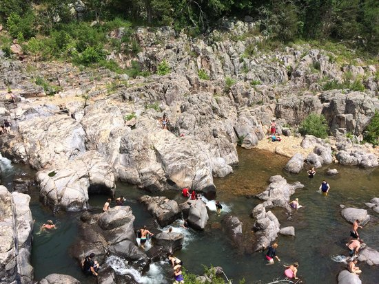 Johnson's Shut-ins State Park: Lots of people
