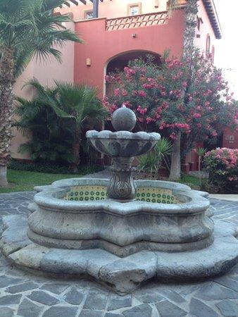 Sheraton Grand Los Cabos Hacienda Del Mar: outside of our room