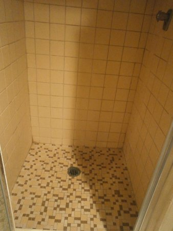 Sole Inn and Suites: Dingy Shower