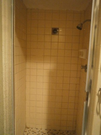 "Sole Inn and Suites: We didn't get one of those ""beautiful shower stalls""!"