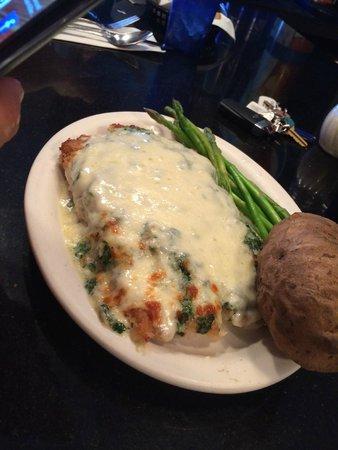 Causeway Restaurant: Baked Haddock Special