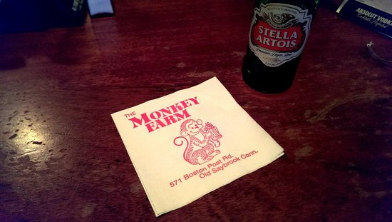 Monkey Farm: Keepsake napkin