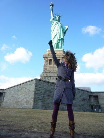 Statue de la liberté : Hurrah
