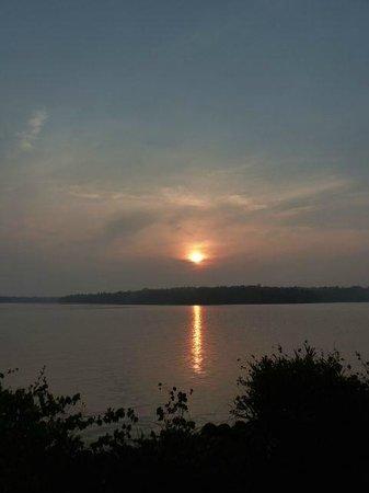 Sarovaram Ayurvedic Backwater Health Centre: Sunrise