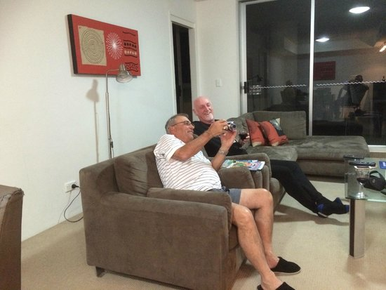 Tweed Ultima Resort Gold Coast: Lounge room