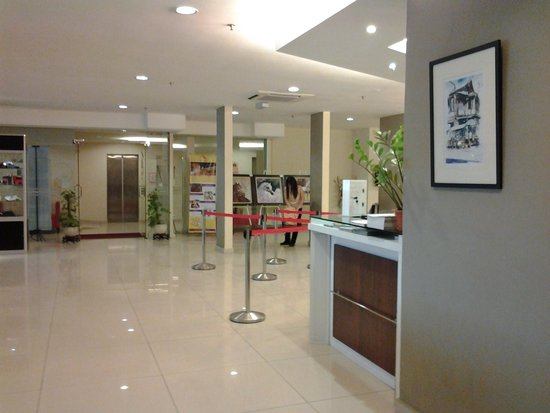 Tune Hotel Downtown Penang: lobby
