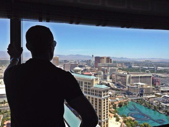 Vdara Hotel & Spa : Vegas view!