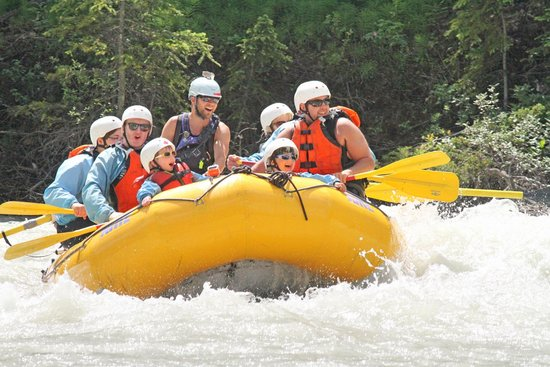 Glacier Raft Company - Day Tours: Picture from our rafting trip