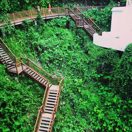 Pangkor Laut Resort : Hill top walkways