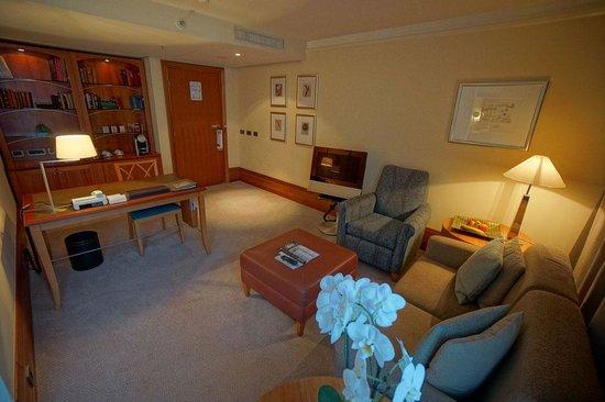 Park Hyatt Hamburg: Suite Lounge Area