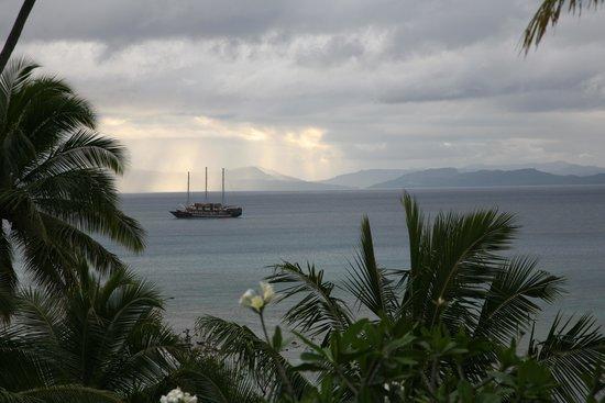 Taveuni Palms Resort : View from Deck