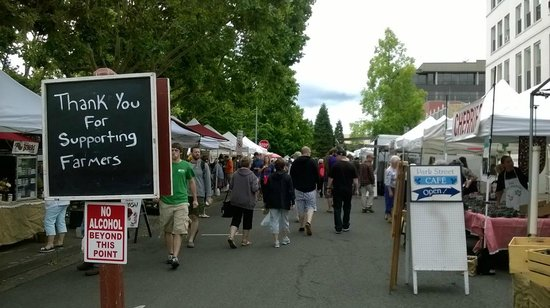 Eugene, OR: farmer's market