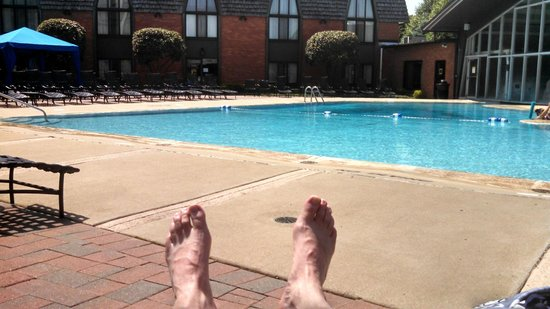 Pheasant Run Resort: Love the indoor/outdoor pool