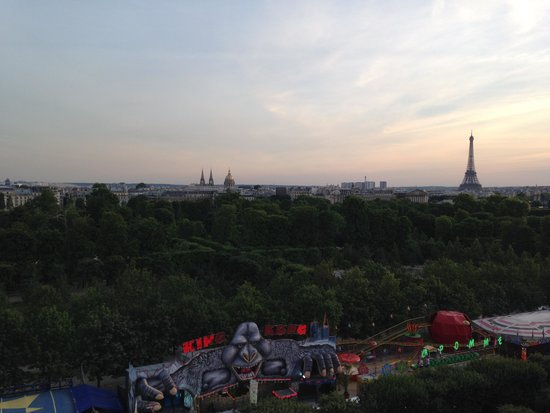 Hotel Brighton - Esprit de France: View From 512 - July 2014