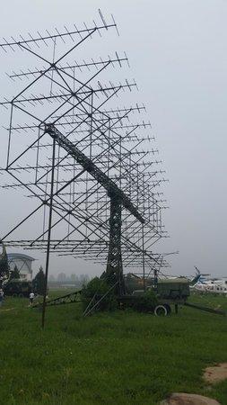 China Aviation Museum : portable yagi radar antennas