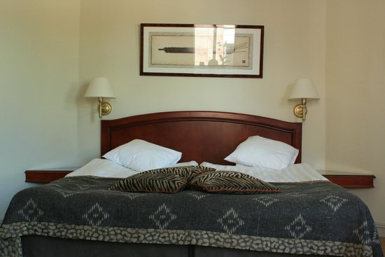 Hotel Royal Gothenburg: king bed, very comfortable