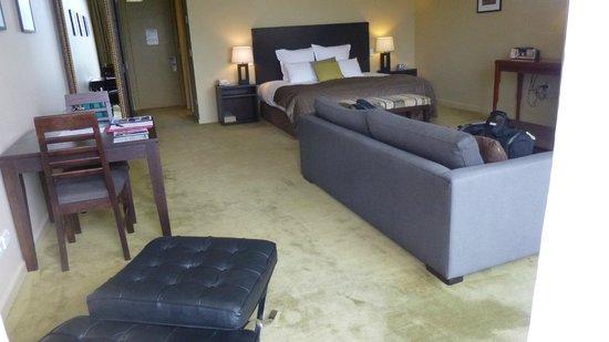 Select Braemar Lodge & Spa : Large room & comfortable