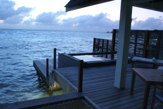 Four Seasons Resort Maldives at Landaa Giraavaru: view from room