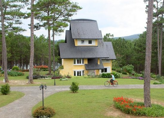 Binh An Village Dalat : View of Villa