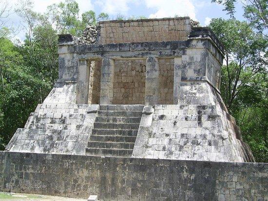 Chichén Itzá : Ball Court Royal Viewing Area