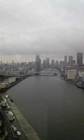 InterContinental Hotel Tokyo Bay: river view