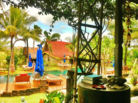 Desa Seni, A Village Resort: View from Veranda of Pool